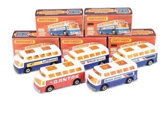 Matchbox Superfast 5 x 65b Airport Coach - (1)
