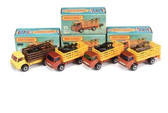 Matchbox Superfast 4 x 71c Dodge Cattle Truck