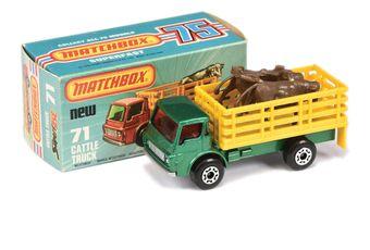 Matchbox Superfast 71c Dodge Cattle Truck