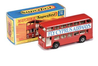 Matchbox Superfast 74a Daimler Fleetline Bus