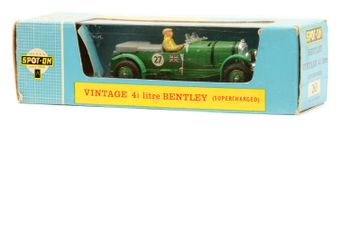 Triang Spot-On 263 Bentley Vintage 4 1/2 litre plastic issue