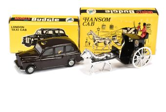 Budgie Toys 100 Hansom Cab - black cab