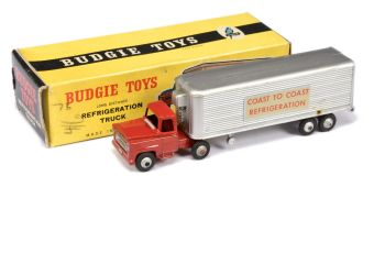 Budgie Toys 202 Long Distance Refrigeration Truck