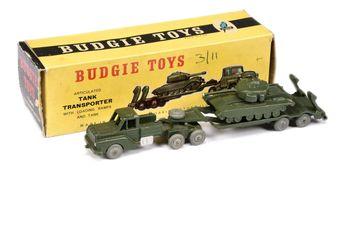 Budgie Toys 222 Military Tank Transporter