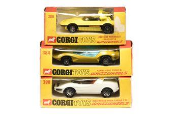 Corgi Whizzwheels a boxed group
