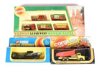 Corgi a boxed group