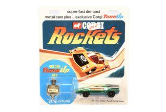 Corgi Rockets 916 Carabo Bertone - metallic green/black