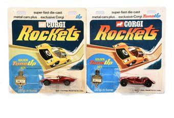 Corgi Rockets a pair (1) 921 Morgan Plus 8