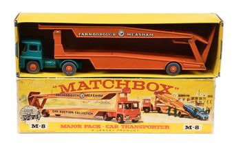 Matchbox Major Pack M8 Guy Warrior Articulated Car Transporter