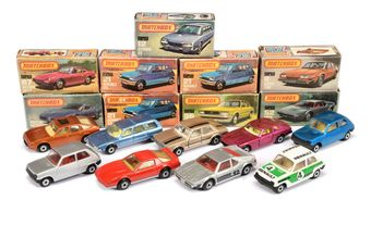 Matchbox Superfast a boxed group to include 12 Citroen CX