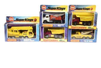 Matchbox Super Kings a boxed group (1 & 2) K-4 Big Tipper