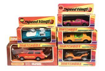 Matchbox Speed Kings a boxed group (1) K-36 Bandolero