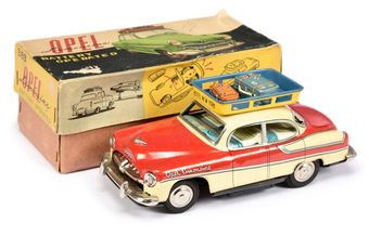 "Bandai (Japan) tinplate battery operated ""Opel Limousine"""