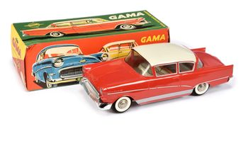 Gama (West Germany) 450 Opel Olympia Rekord - red