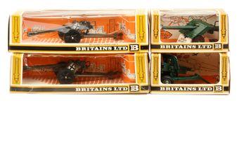 Britains - Gun Models Series, 1970's Issues