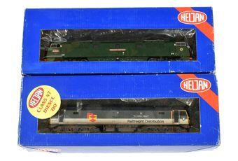 Heljan OO Gauge Co-Co Diesel Locos comprising 4630 Railfreight
