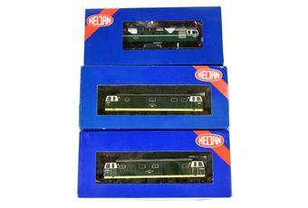 Heljan OO Gauge BR green Bo-Bo Diesel Locos comprising 34111