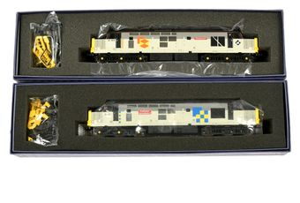 Vitrains Co-Co Class 37 Diesel Locos comprising 2023 Railfreight