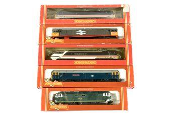 Hornby Railways Diesel and Electric Locos comprising R240 Bo-Bo