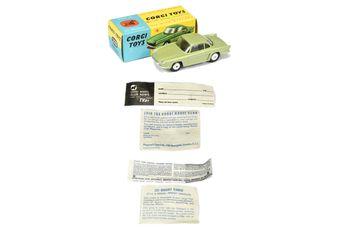 Corgi 222 Renault Floride - green body