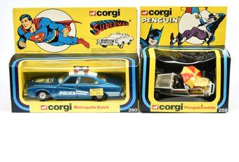"Corgi a boxed pair (1) Corgi 260 ""Superman"" -"