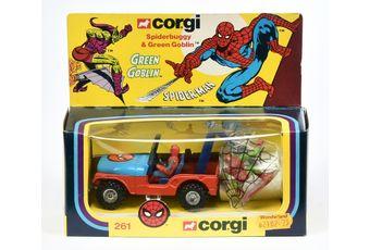 "Corgi 261 ""Spiderman"" Spiderbuggy"