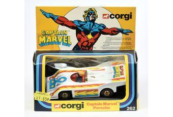 "Corgi 262 ""Captain Marvel"" - Captain Marvel Porsche"