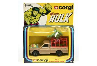 "Corgi 264 ""The Incredible Hulk"" Mazda Pick-up Truck"