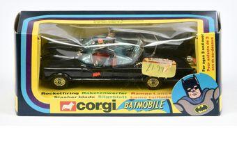 "Corgi 267 ""Batman"" Batmobile - black body"