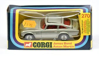 "Corgi 270 ""James Bond"" Aston Martin DB5 (2nd Issue)"