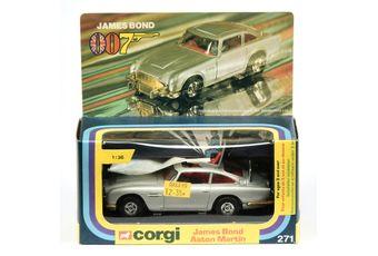 "Corgi 271 ""James Bond"" Aston Martin DB5 (1/36th scale)"