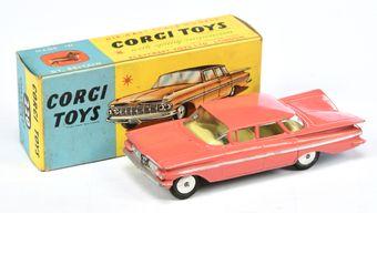 Corgi 220 Chevrolet Impala - salmon pink