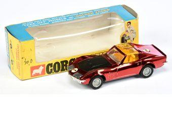Corgi 300 Chevrolet Corvette Stingray Coupe - metallic red
