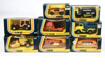 Corgi a boxed group to include 409 Unimog Tipper