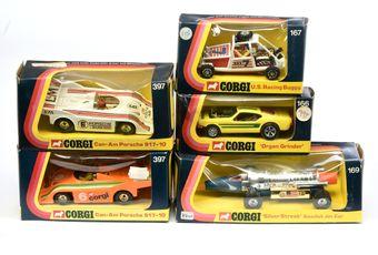 Corgi a boxed group to include 397 Cam-Am Porsche 917-10