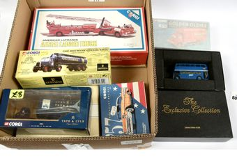 Corgi Classics a mixed group to include 16301 Scammell Highwayman