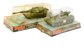 Dinky a Military pair (1) 654 155mm Mobile Gun