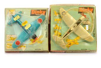 Dinky Aircraft pair (1) 734 P47 Thunderbolt