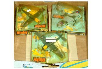 Dinky Aircraft group (1) 718 Hawker Hurricane Mk IIc