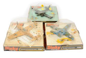 Dinky Aircraft group (1) 726 Messerschmitt BF109E