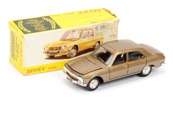 Spanish Dinky 011452 Peugeot 504 - metallic brown