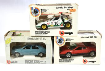 Bburago/HAT 1/24th scale boxed group