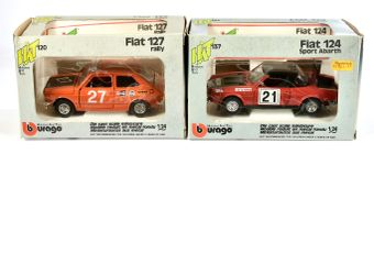Bburago/HAT 1/24th scale boxed pair