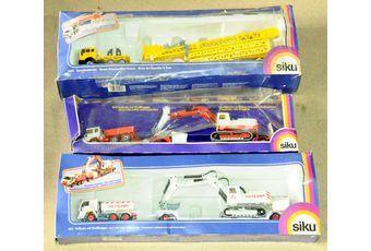 Siku a boxed group of Construction models
