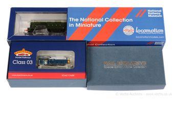 Bachmann OO Gauge Special Edition Diesel Locos comprising 32-027