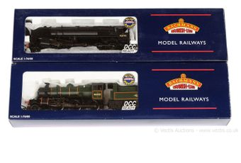 Bachmann OO Gauge BR Steam Locos comprising 32-825 2-6-0 lined