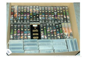 A large quantity of TV Related Video Cassettes which include