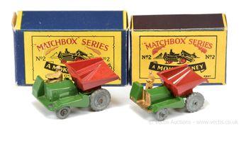 Matchbox Regular Wheels 2a Muir Hill Site Dumper