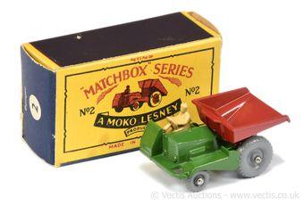 Matchbox Regular Wheels 2b Muir Hill Site Dumper