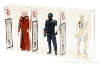 "Kenner Star Wars Bespin Guard vintage 3 3/4"" figure Hong Kong"